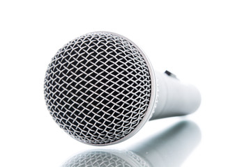 microphone without cable isolated