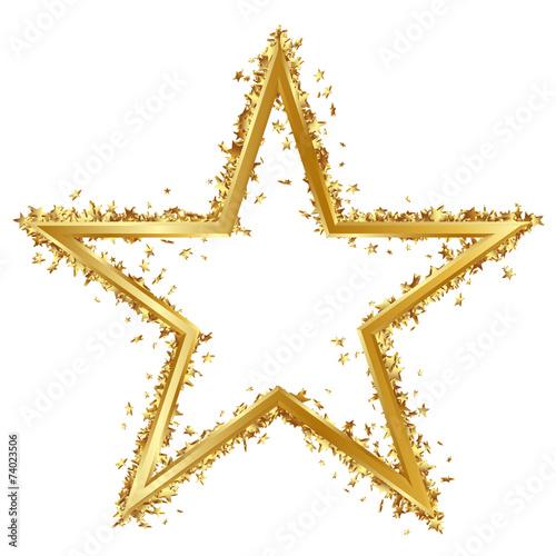 goldener stern rand goldrand viele sternchen golden star stockfotos und lizenzfreie bilder. Black Bedroom Furniture Sets. Home Design Ideas