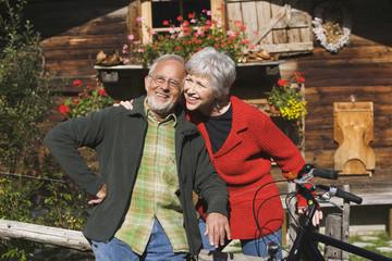 Älteres Paar aus Österreich