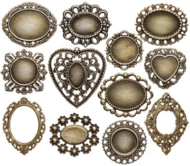 Fototapete - Metal frames