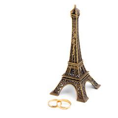 Married under eiffel tower