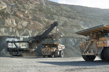Loader and Haul Truck