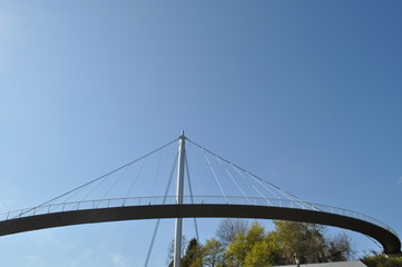 Fußgänger Brücke in Sassnitz, Rügen