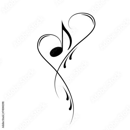 """notenschlüssel noten musik vektor"" stock image and"