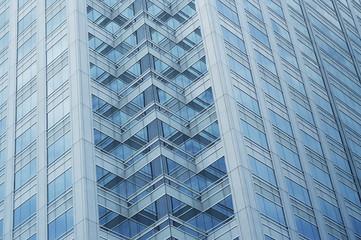 Fototapete - Window glass of the modern office