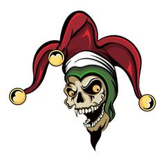 Joker Vampire Skull