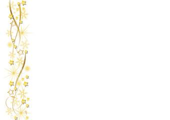 goldene sterne und ribbons