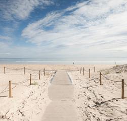 Fototapeta Playa de Laredo, España obraz