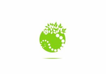 ball, eart, world, tree illustration vector