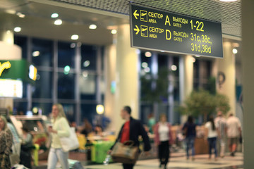 passengers are expected to pick up at the airport Sheremetyevo-2