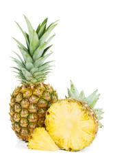 Fresh juicy pineapple