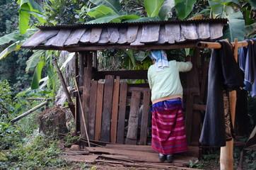 Femme karen, Thaïlande