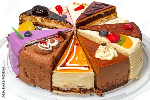 Виды тортов картинки