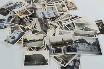 Viele alte Bilder Fotos