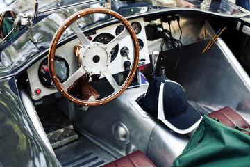 interno auto d'epoca