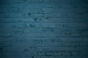 Alte rustikale blaue Steinwand