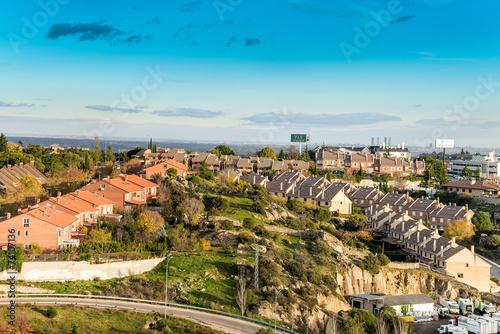 Vista de torrelodones al noroeste de madrid spain stock for Madrid noroeste