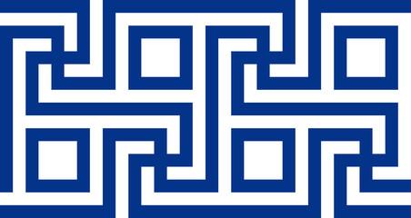 Ancient Greek motif. Vector illustration
