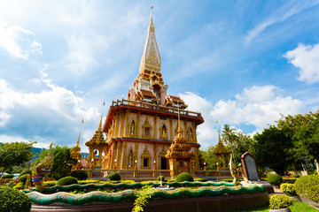 the temple Wat Chalong
