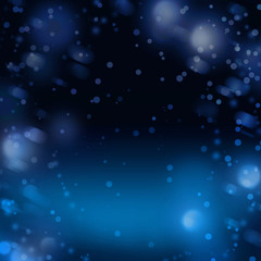 Night snow abstract winter background for Christmas or New Year