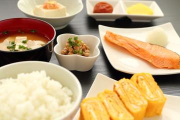たまごの和朝食