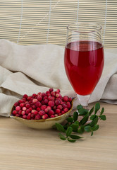 Cowberry juice