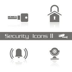 Iconos seguridad serie 1 FB reflejo