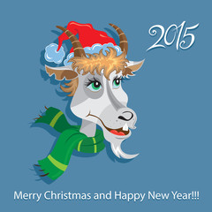 Goat - symbol 2015 - Illustration