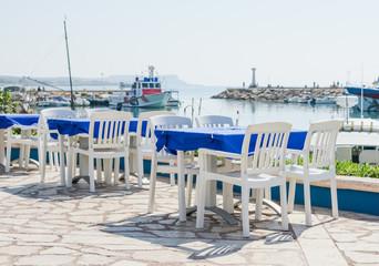 cafe table outside
