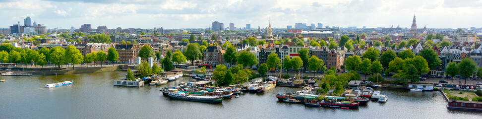 Canvas Prints Amsterdam Old Amsterdam city