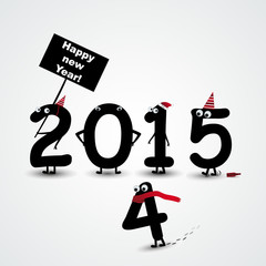 2015 happy new year background