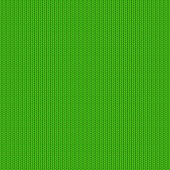 Green knitted pattern