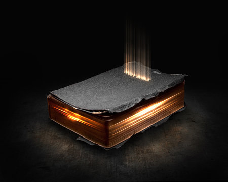 Glowing Bible