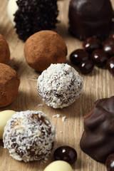 cioccolatini ricoperti al cocco