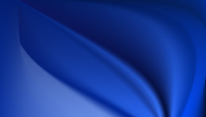 blue silk background with some soft folds