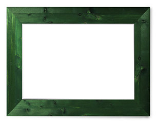 Green Wooden Picture Frame
