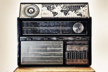 Old international dial radio