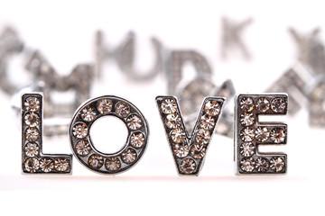 love (diamond letters)