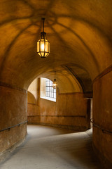Cesky Krumlov Castle corridor