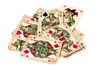 Old joker cards