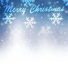 Christmas greeting card border