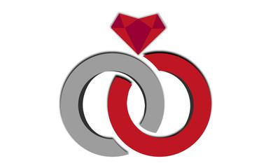 anelli e diamante 1