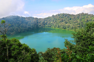 Crater Lake Chicabal Lagoon, Guatemala