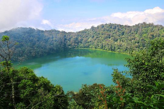 Crater Lake Chicabal Lagoon, Guatemala