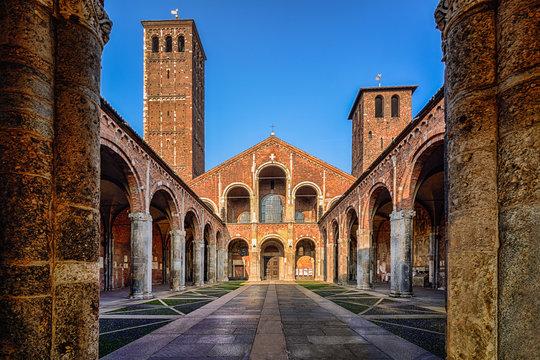 S.Ambrogio church,Milan