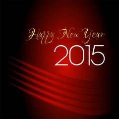 Happy new year 2015abstract background