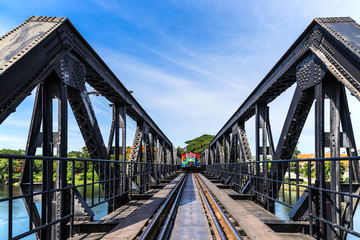 bridge of the river kwai ,kanchanaburi province, thailand