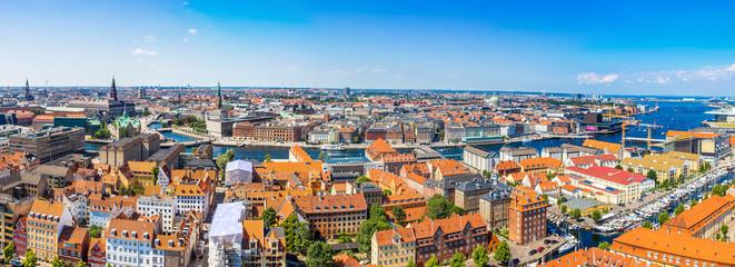 Garden Poster Scandinavia Copenhagen panorama