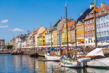 Foto op Plexiglas Scandinavië Copenhagen, Nyhavn