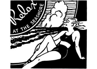 Relax At The Seashore